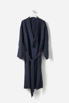 CITTA - BEAU MEN'S LINEN DRESSING GOWN