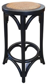 JAKARTA BAR STOOL - BLACK/NATURAL