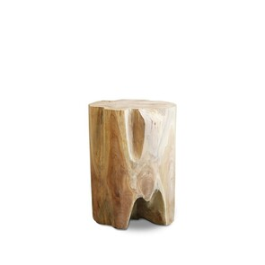TEAK ROOT ROUND SIDE TABLE