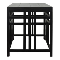 CARTER VINTAGE BLACK SIDE TABLE
