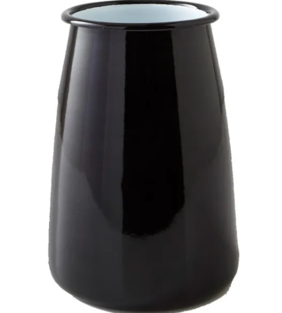 FALCON ENAMEL UTENSIL HOLDER 12CM BLK