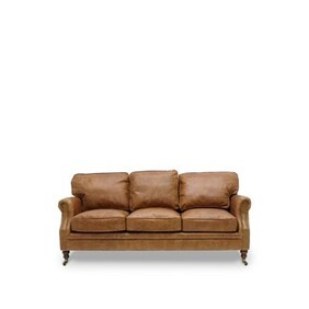 WINSTON SOFA 3 SEATER - TAN