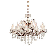 HALO CRYSTAL CHANDELIER - MEDIUM