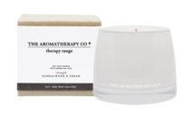 THERAPY CANDLE BALANCE - SANDALWOOD & CEDAR