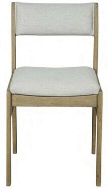 ARTWOOD SHEFFIELD DINING CHAIR NATURAL LINEN