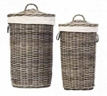 ARTWOOD LAUNDRY BASKET - TWO SIZES