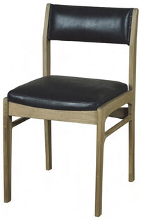 ARTWOOD SHEFFIELD DINING CHAIR-LEATHER