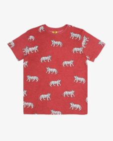 COOL CATS TEE - RED