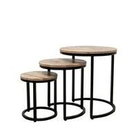TRITON NESTING SIDE TABLES
