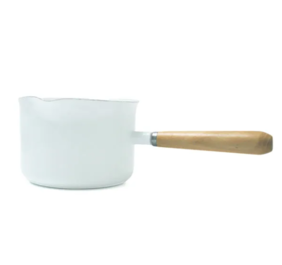 DISHY ENAMEL GRAVY MAKER WHITE