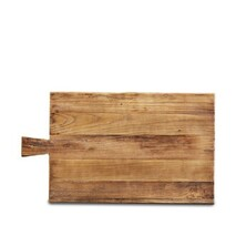 ARTISAN ELM RECTANGLE BREAD BOARD - 60cm - WITH HANDLE
