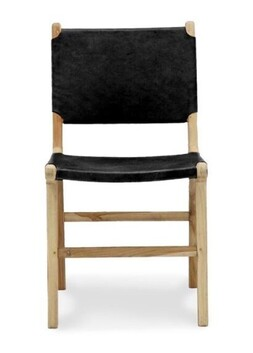 BRUNO DINING CHAIR BLACK