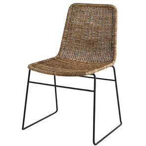 OLIVIA DINING CHAIR NATURAL