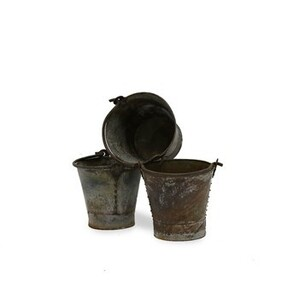 ORIGINAL IRON BUCKET - LARGE