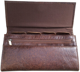 HALO TRAVEL DOCUMENT WALLET - VINTAGE CIGAR