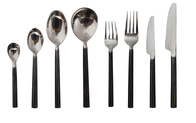 BLACK HANDLE CUTLERY