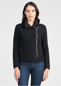 FELTED FIORD JACKET - JET