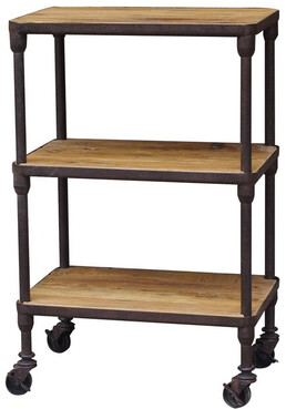 INDUSTRIAL 3 TEIR SHELVING