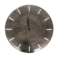 GENEVA CLOCK 58CM - NICKEL