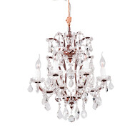 HALO CRYSTAL CHANDELIER - SMALL