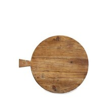 ARTISAN ROUND BREAD BOARD WITH HANDLE