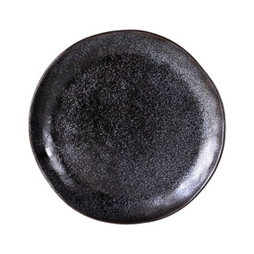 ROBERT GORDON EARTH DINNER PLATE - BLACK