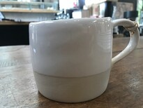 ROBERT GORDON WHITE DIPPED MUG
