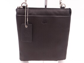 SECOND NATURE CROSS BODY BAG - BLACK & SILVER