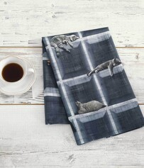 TEA TOWEL-CUBBY