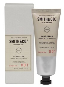 SMITH & CO - TABAC & CEDERWOOD - HAND CREAM