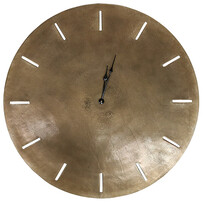 GENEVA CLOCK 73CM - ANTIQUE BRASS