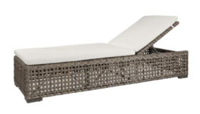 ARTWOOD ORLANDO LOUNGER - CLASSIC GREY