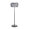 HALO FACET CRYSTAL FLOOR LAMP - CRYSTAL
