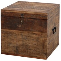 MERCHANT WOODEN TRUNK