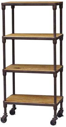 INDUSTRIAL 4 TEIR SHELVING