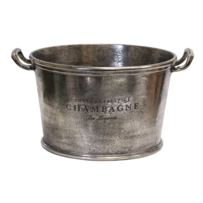 LARGE OVAL CHAMPAGNE BUCKET