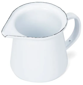 FALCON ENAMEL CREAMER 125ML- WHITE