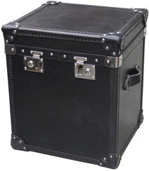 HALO LONDON TRUNK - RIDERS BLACK STEEL STUDS