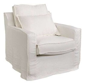 ARTWOOD MILFORD - SINGLE SEATER WHITE