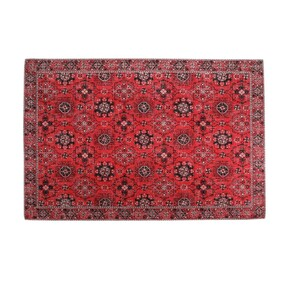 HANDMADE TURKISH RUG - QUEENSLAND RED