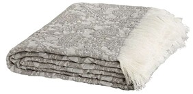 ARTWOOD EDEN LIGHT GREY THROW