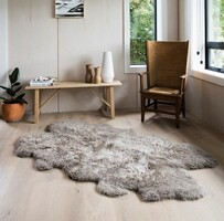 WILSON AND DORSET SHAGGY SHEEPSKIN, 1 1/2 LENGTH