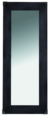 ARTWOOD VINTAGE BLACK MIRROR - RECTANGLE