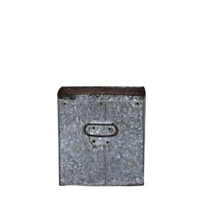 SQUARE IRON PLANTER - SMALL