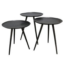 BROOKLYN S/3 TABLES GRAPHITE