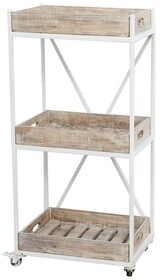 RUSTIC KITCHEN TROLLEY