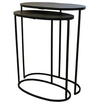FOXTON NEST SIDE TABLE - BLACK