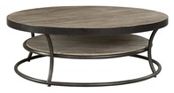 Artwood East Elm & Iron Round Coffee Table
