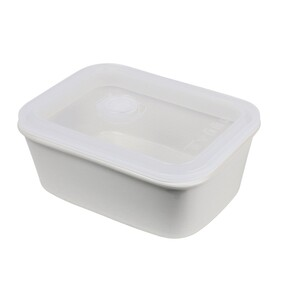 FEAST TRAVEL CONTAINER RECTANGLE CREAM