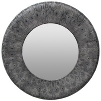 COLOMBIA ROUND MIRROR - BLACK